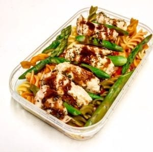 Balsamic Chicken & Asparagus - meals to lose weight