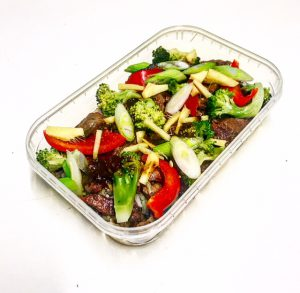 Thai Spiced Black Bean Beef
