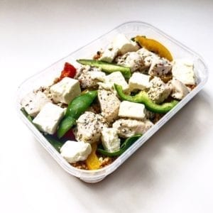 Greek Chicken With Feta