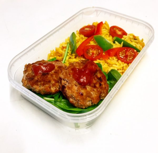 Mini Turkey Burgers Picture