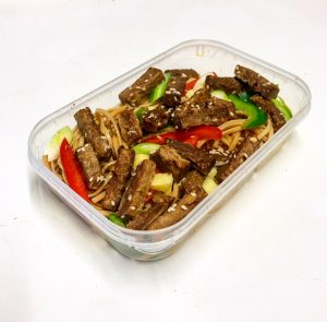 Quorn sesame steak strips