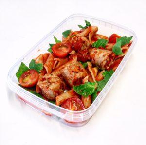 Tomato Quorn Meatballs