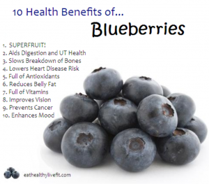 blueberries - best diet food